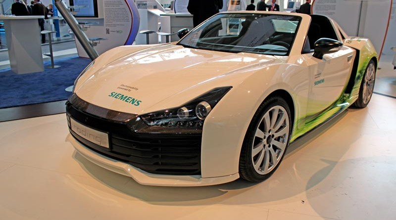 Elektroauto Tesla Roadster.