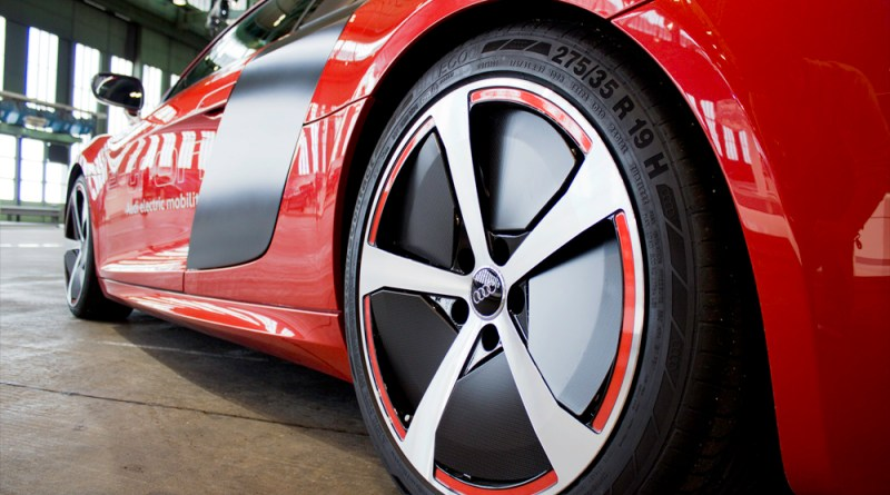 Symbolbild: Elektroauto Audi R8 e-tron