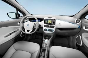 Der Innenraum des Elektroauto Renault Zoe. Bildquelle: Renault