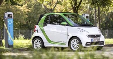 Das Elektroauto smart fortwo electric drive hat im Oktober 2014 die Liste der Neuzulassungen in Deutschland angeführt. Bildquelle: Daimler