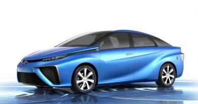 Das Brennstoffzellenauto Toyota FCV Concept. Bildquelle: Toyota