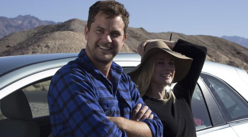 """""""The Death Valley Experiment"""": Diane Kruger und Joshua Jackson mit dem Mercedes-Benz B-Klasse F-Cell im Death Valley, USA. Foto: Auto-Medienportal.Net/Daimler"""