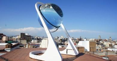 In Zukunft soll man dank Beta.ray (vom Unternehmen Rawlemon) Elektroautos auch bei Mondlicht oder diffusem Licht aufladen können. Bildquelle: Rawlemon