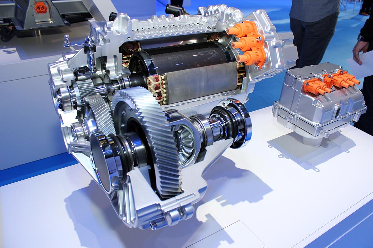 elektroauto motor