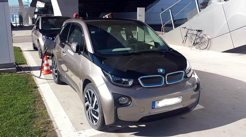 Elektroauto BMW i3. Bildquelle: James