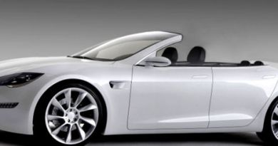 Das Elektroauto Tesla Model S als Cabrioversion. Bildquelle: Newport Convertible Engineering