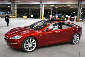 Elektroauto Tesla Model S. Bildquelle: FlickR Jurvetson (CC BY 2.0)