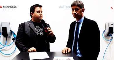 Interview mit Herrn Volker Lazzarodem (technischen Geschäftsführer von Mennekes) auf der MobiliTec in Hannover