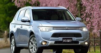 Seit dem 17. Mai 2014 steht das Plug-in Hybrid Outlander bei den Mitsubishi Händlern. Nach 5-Sternen beim Euro NCAP hat das sparsame und umweltfreundliche Fahrzeug jetzt auch in Japan die Bestwertung von 5 Sternen erhalten. Bildquelle: Mitsubishi