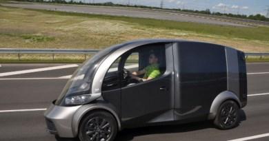 Das Elektroauto DELIVER ist der Lieferwagen der Zukunft. Bildquelle: Institut für Kraftfahrzeuge der RWTH Aachen University (ika)
