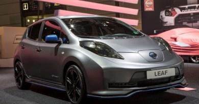 Das Elektroauto Nissan Leaf mit Aero-Kit. Bildquelle: Nissan