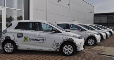 Das Elektroauto Renault Zoe wird von Euromaster an 20 Servicestationen als Ersatzwagen eingesetzt. Bildquelle: Euromaster