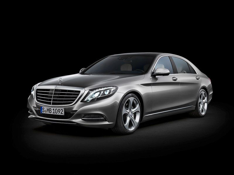 Plug-In Hybridauto Mercedes-Benz S-Klasse S500 Plug-In. Bildquelle: Mercedes-Benz.