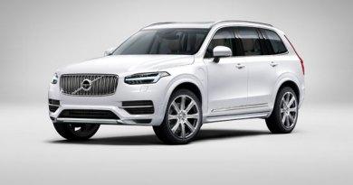 Plug-In Hybridversion des Volvo XC90 kommt im April 2015 auf den Markt. Bildquelle: Volvo