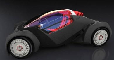 Das Elektroauto Strati wurde von Local Motors entwickelt und innerhalb von 44 Stunden mit 3D Druckern produziert. Bildquelle: Local Motors