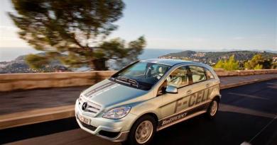 Brennstoffzellenauto Mercedes-Benz B-Klasse F-Cell stellt Dauerlaufrekord auf. Bildquelle: Mercedes-Benz