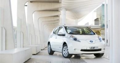Das Elektroauto Nissan Leaf wurde im September 1986 Mal in Europa verkauft. Bildquelle: Nissan
