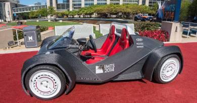 Ab 2015 kommen die Elektroautos aus dem 3D-Drucker. Bildquelle: Local Motors