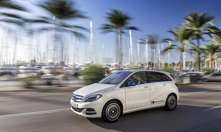 Das Elektroauto Mercedes-Benz B-Klasse kostet in Deutschland 39.151 Euro. Bildquelle: Mercedes-Benz