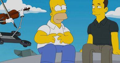 Elon Musk bei den Simpsons. Bildquelle: Fox