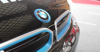 Elektroauto BMW i3 Logo Cebit 2015