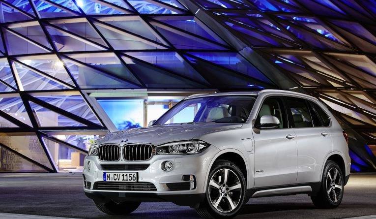 Plug-In Hybridauto BMW X5 xDrive40E. Bildquelle: BMW