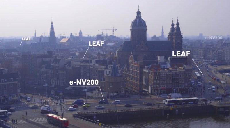 Amsterdam wird zu einer der Metropolen für Elektroautos. Bildquelle: Nissan