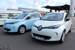 Das Elektroauto Renault Zoe ist im Juli 2016 auf Platz 1 der Neuzulassungen.