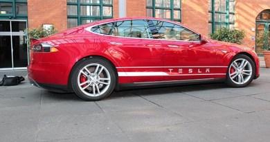 Elektroauto Tesla Model S P85