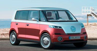 Konzeptfahrzeug: Elektroauto VW Bulli. Bildquelle: VW AG