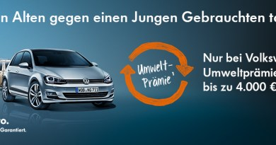 VW Umweltprämie. Bildquelle: VW AG