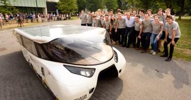 Solarauto Stella Lux. Bildquelle: TU Eindhoven, Bart van Overbeeke