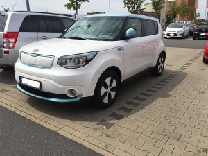 Electric car Kia Soul EV
