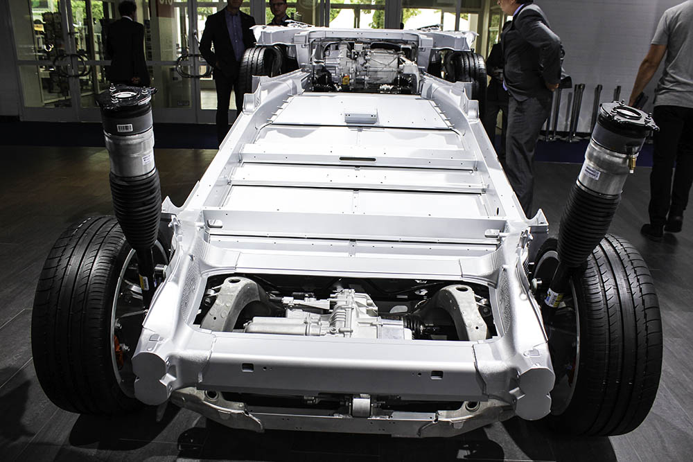 Tesla Motors auf der IAA 2015 in Frankfurt am Main - Mein Elektroauto