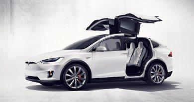 Elektroauto Tesla Model X P90D. Bildquelle: Tesla Motors