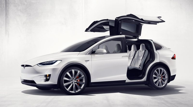 Elektroauto Tesla Model X P90D. Bildquelle: Tesla Motors