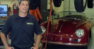 Das Unternehmen EV West baut Verbrenner zu Elektroautos um. Bildquelle: Youtube.com/Drive