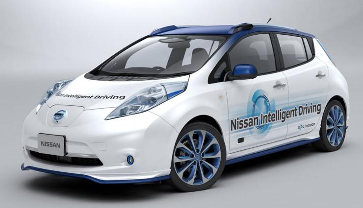 Das Elektroauto Nissan Leaf kann bald vollständig autonom fahren. Bildquelle: Nissan