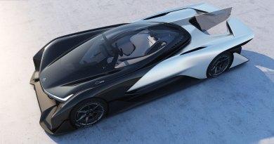 Elektroauto Faraday Future FF Zero 01. Bildquelle: Faraday Future