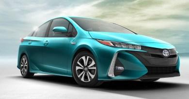 Das Plug-In Hybridauto Toyota Prius Prime kommt im Jahr 2017 auf den Markt. Bildquelle: Toyota