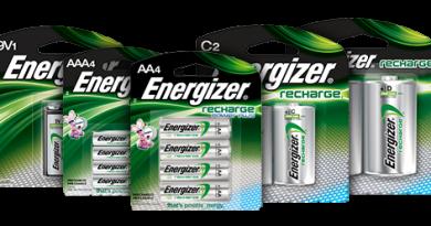 Elektroauto-Batterien leben in Energizer Recharge-Akkus weiter. Bildquelle: Energizer