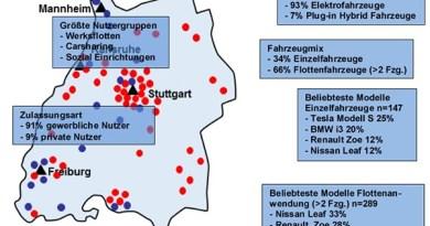 Die InitiativE-BW will bis Ende des Jahres 500 Plug-In Hybrid- und Elektroautos betreiben. Bildquelle: www.e-motion-line.de