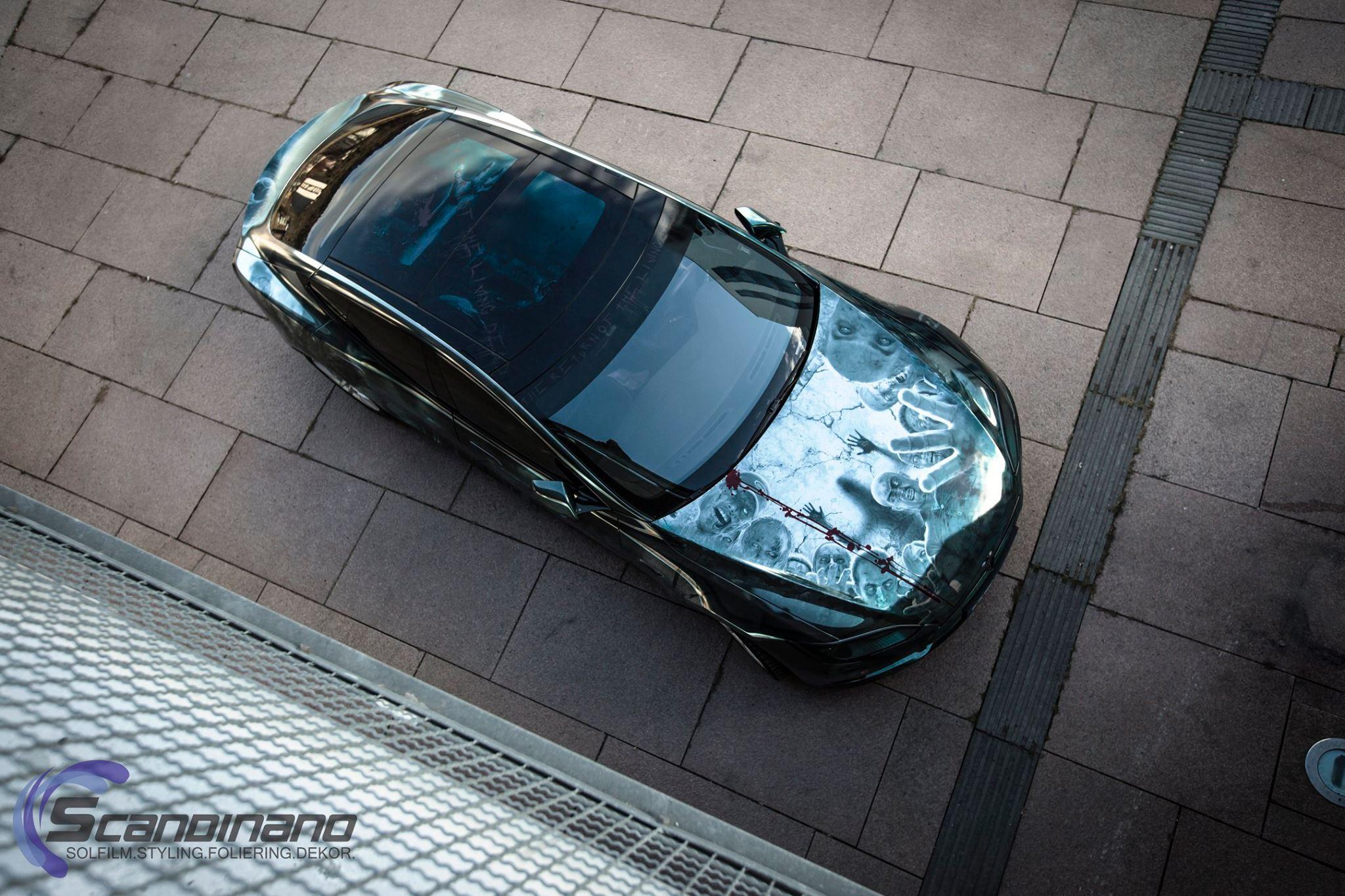 Elektroauto Tesla Model S Zombie oben - Mein Elektroauto