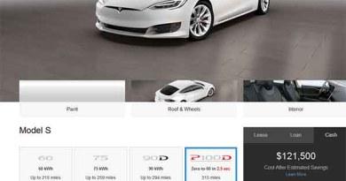 Die Elektroautos Tesla Model S und Model X können nun mit einer bis zu 100 kWh großen Batterieeinheit bestellt werden. Bildquelle: Screenshot von TeslaMotors.com