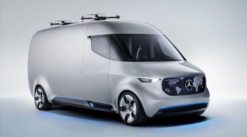 Das Elektroauto Mercedes-Benz Vision Van ist leider noch ein Konzeptfahrzeug, aber seine Details klingen sehr verlockend. Bildquelle: Mercedes-Benz/Daimler AG