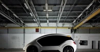 Das Elektroauto Amber One soll man für 33 Euro pro Woche mieten können. Bildquelle: Amber Mobility