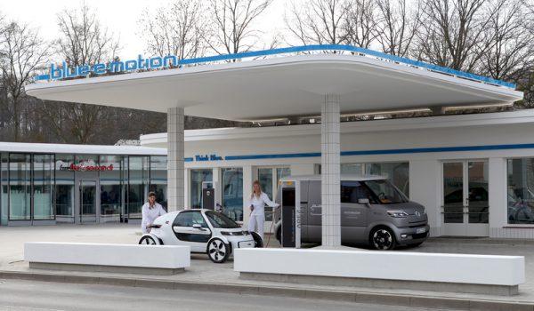 Symbolbild. Dies ist eine fertige e-Mobility-Station für Elektroautos in Wolfsburg. Bildquelle: Wolfsburg AG Matthias Leitzke