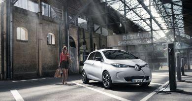 Das Elektroauto Renault Zoe verfügt über eine Reichweite von 400 Kilometer. Bildquelle: Renault