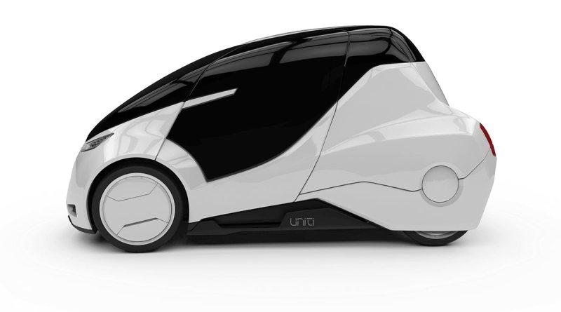 Das Elektroauto Uniti soll im Jahr 2019/2020 auf den Markt kommen. Bildquelle: Uniti Sweden AB