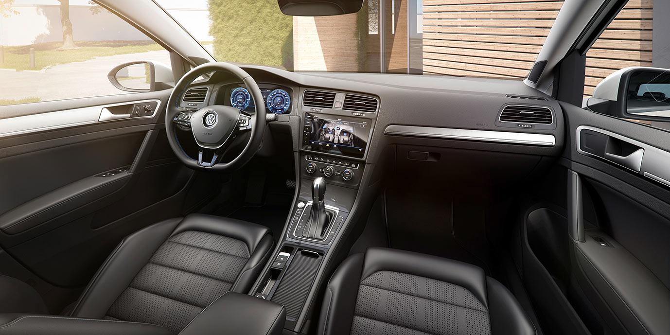 elektroauto-vw-egolf-2017-volkswagen-interieur - Mein Elektroauto